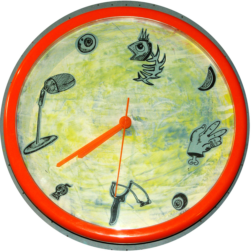 Uhr 2  Durchmesser 25cm