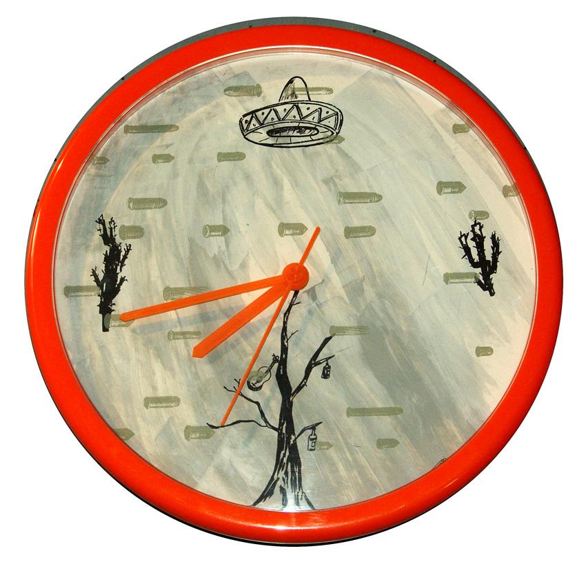 Uhr 5  Durchmesser 25cm